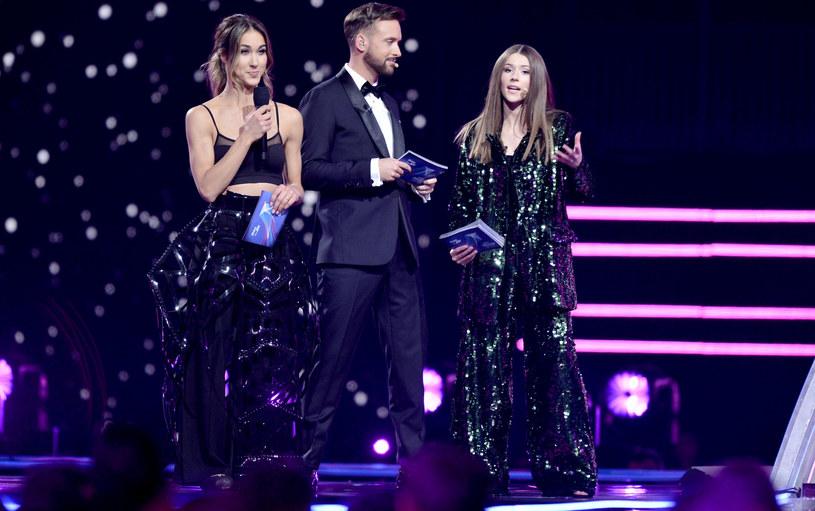 Ida Nowakowska, Aleksander Sikora i Roksana Węgiel, Eurowizja Junior 2019 /Łukasz Kalinowski /East News