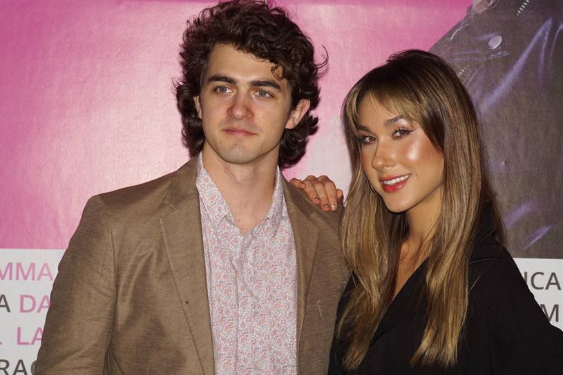 Ida Nowskowska razem z mężem na IX Festiwalu Cinema Italia Oggio 2020 /Tricolors /East News