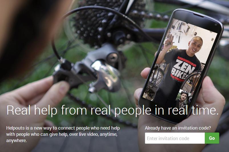 Idea Google Helpouts jest bardzo ciekawa, ale czy nowa usługa się przyjmie? /materiały prasowe