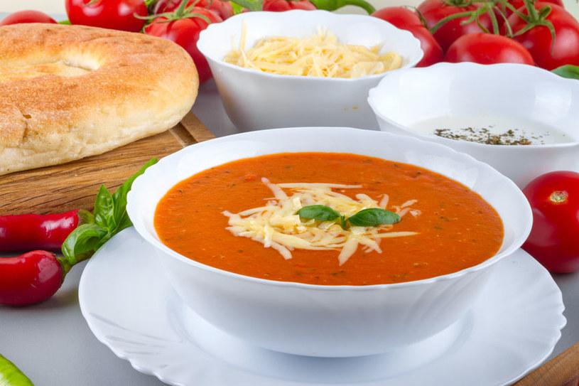 Zupa Pomidorowa Z Serem Mamdziecko W Interiapl