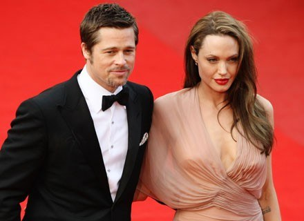 Idealnie dopasowana para: Brad Pitt i Angelina Jolie /Getty Images/Flash Press Media