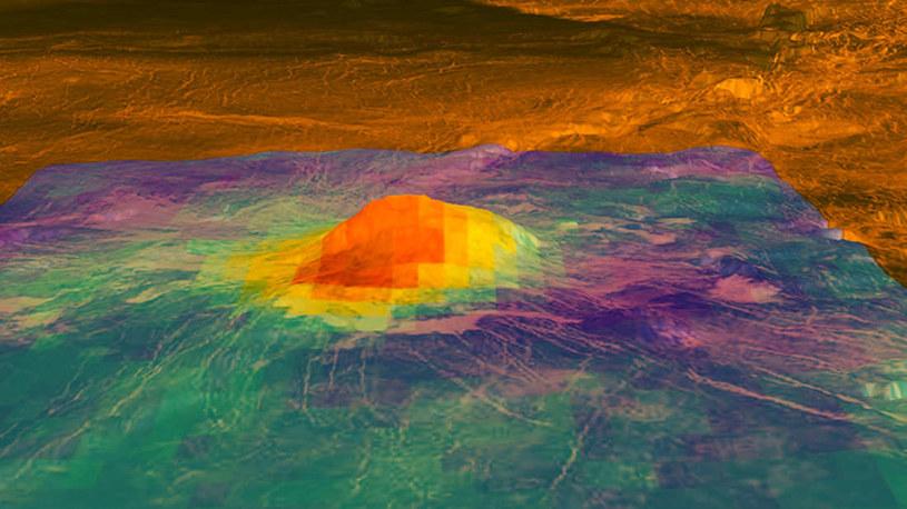 Idunn Mons na Wenus /materiały prasowe