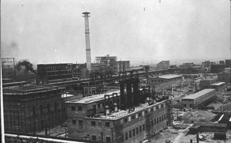 IG Farben Zakłady Chemiczne Buna-Werke około 1941 roku /German Federal Archives /Wikimedia