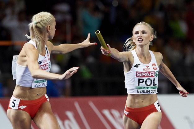 Iga Baumgart-Witan i Małgorzata Hołub-Kowalik /Adam Warżawa /PAP