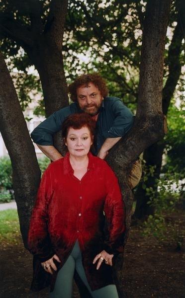 Iga Cembrzyńska i Andrzej Kondratiuk w 2001 roku /AKPA