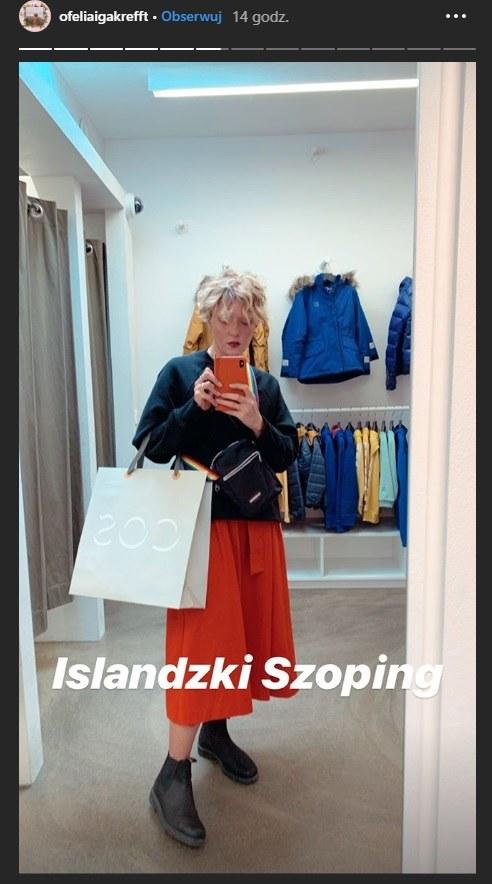 Iga Krefft w nowej fryzurze /Instagram /Instagram