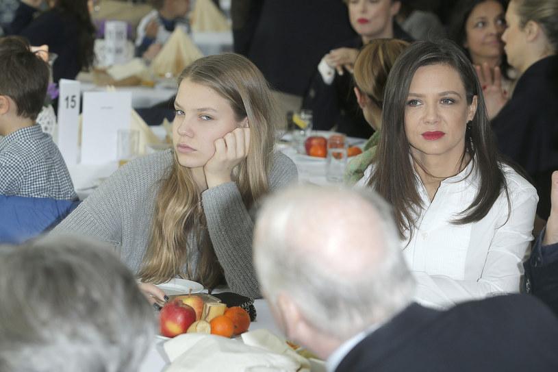 Iga Lis z mamą Kingą Rusin /AKPA