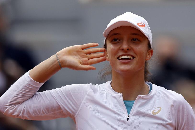 Iga Świątek kontra Nadia Podoroska i wielkie zwycięstwo Polki w Roland Garros. /PAP/EPA /PAP