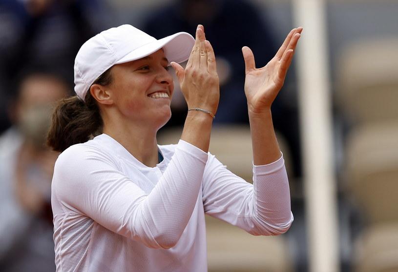 Iga Świątek kontra Nadia Podoroska i wielkie zwycięstwo Polki w Roland Garros /PAP/EPA /PAP