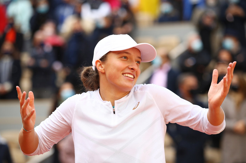 Iga Świątek mistrzynią Rolanda Garrosa /Julian Finney /Getty Images