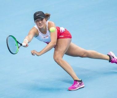 Iga Świątek zaskoczona awansem do finału turnieju WTA w Lugano