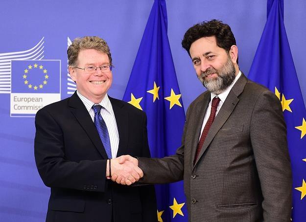 Ignacio Garcia Bercero (P) i Dan Mullaney /AFP