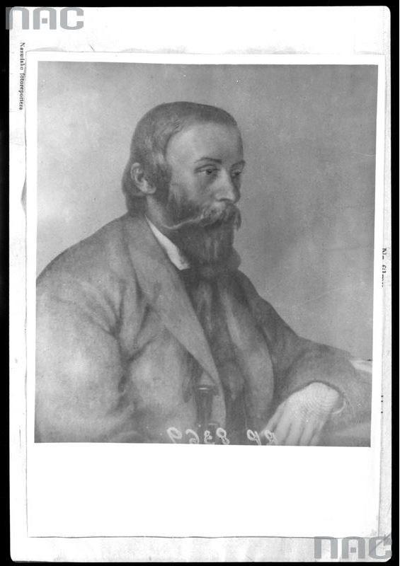 Ignacy Łukasiewicz /Z archiwum Narodowego Archiwum Cyfrowego