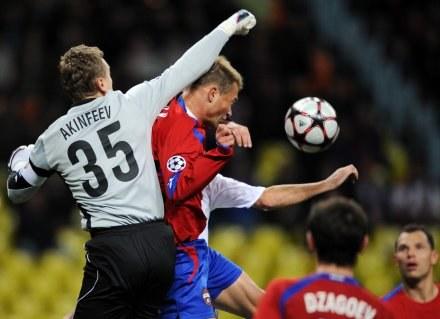Igor Akinfiejew - czy to przyszły golkiper Manchesteru United? /AFP