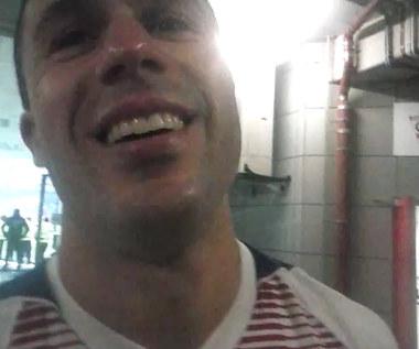 Igor Angulo po meczu z Miedzią Legnica (1-3). Wideo