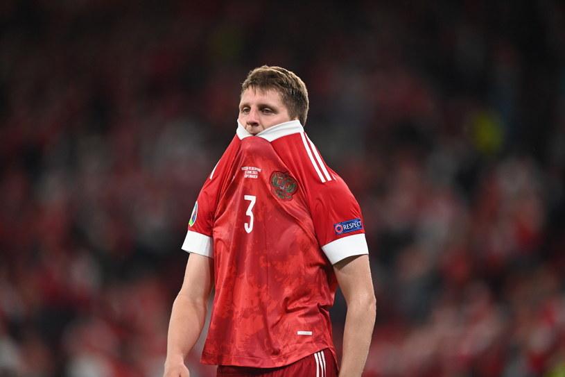 Igor Diwiejew po meczu z Danią /PAP/EPA