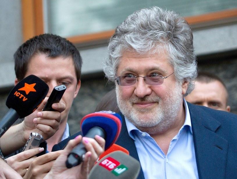 Igor Kołomojski popadł w konflikt z rządem Ukrainy /Markiv Mykhailo /East News