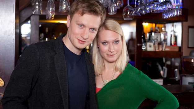 Igor (Kuba Wesołowski) i Maja (Agnieszka Żulewska) /Agencja W. Impact