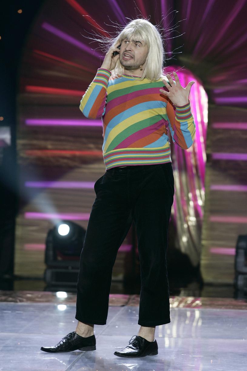Igor Kwiatkowski jako Mariolka, Opole 2009 /AKPA
