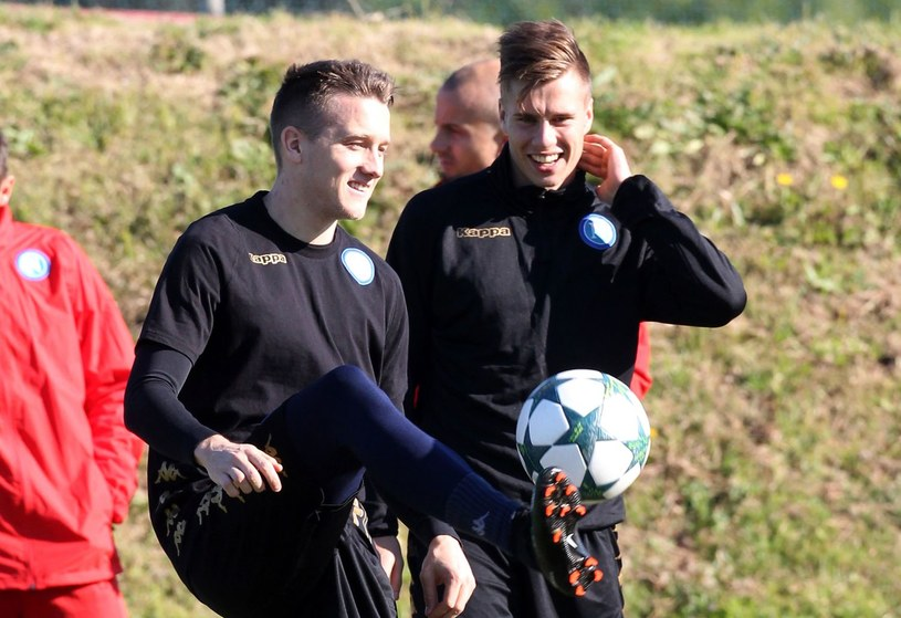 Igor Łasicki (z prawej) /AFP