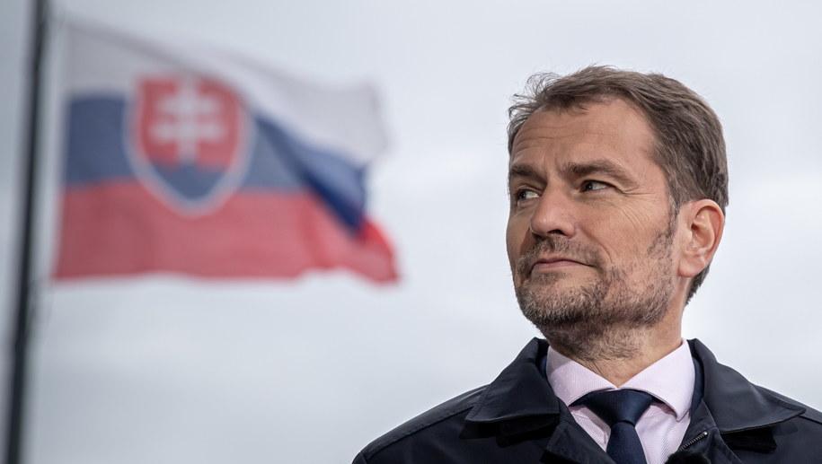 Igor Matovicz, lider OLANO /Martin Divisek /PAP/EPA