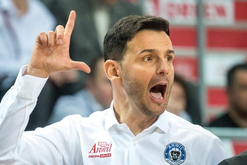 Igor Miliczić, trener Anwilu /Tytus Żmijewski /PAP
