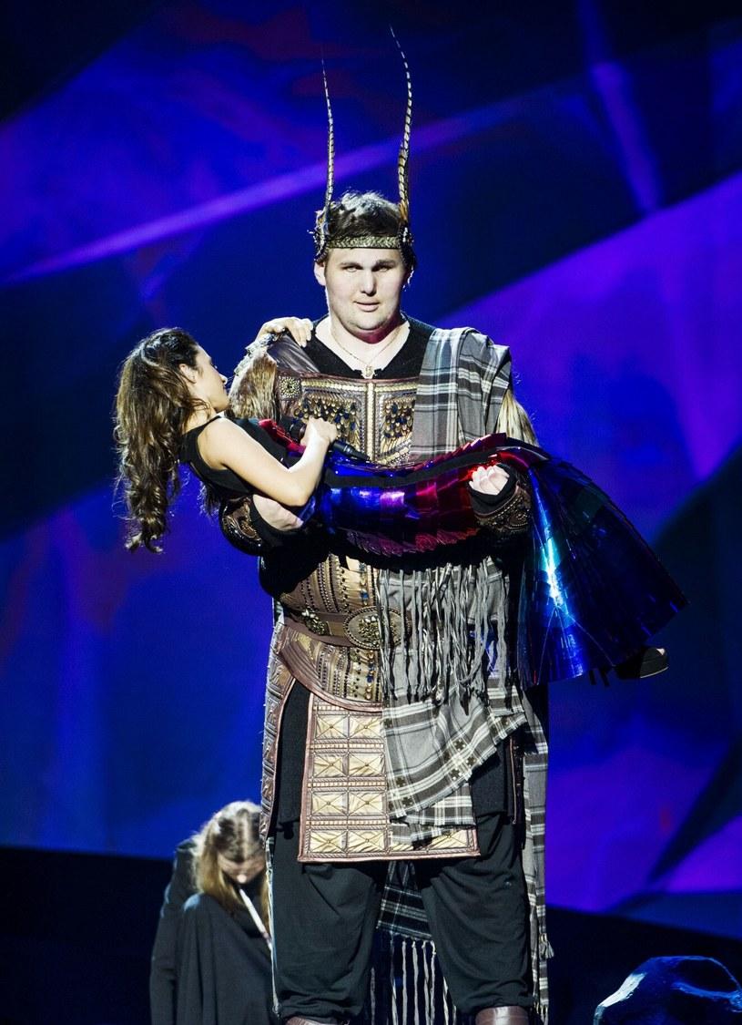 Igor Vovkovinsky podczas Eurowizji w Malmo w 2013 r. /IBL/Rex Features /East News
