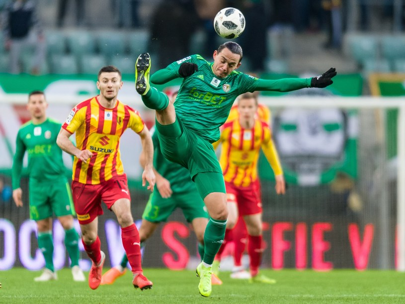 Igors Tarasovs w przyszłym sezonie nie zagra w drużynie z Wrocławia /Maciej Witkowski/REPORTER /East News