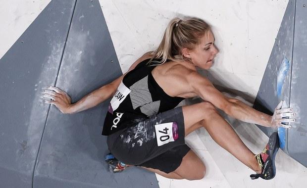 Igrzyska olimpijskie: Aleksandra Mirosław czwarta we wspinaczce