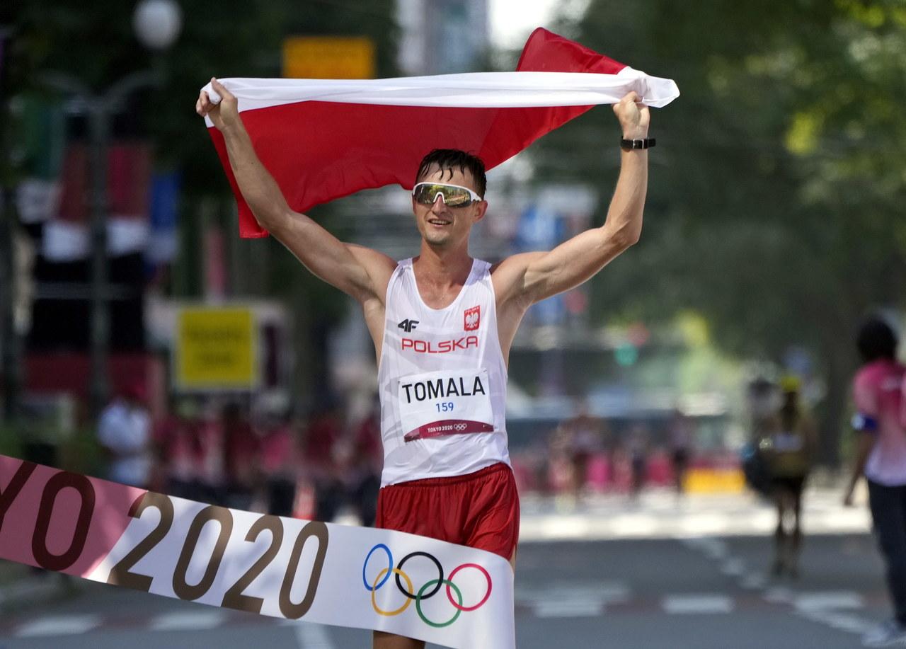 Igrzyska olimpijskie. Dawid Tomala ze złotym medalem w chodzie na 50 km!