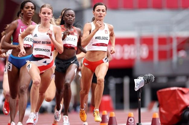 Igrzyska Olimpijskie. Polka Anna Wielgosz  w eliminacjach biegu na 800 m / Leszek Szymański    /PAP