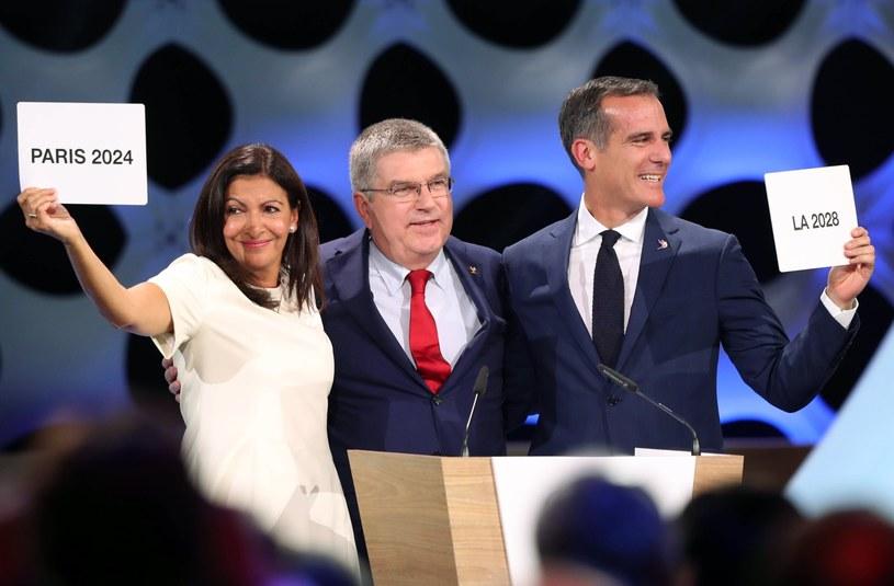 Igrzyska olimpijskie w 2024 roku odbędą się w Paryżu /PAP/EPA