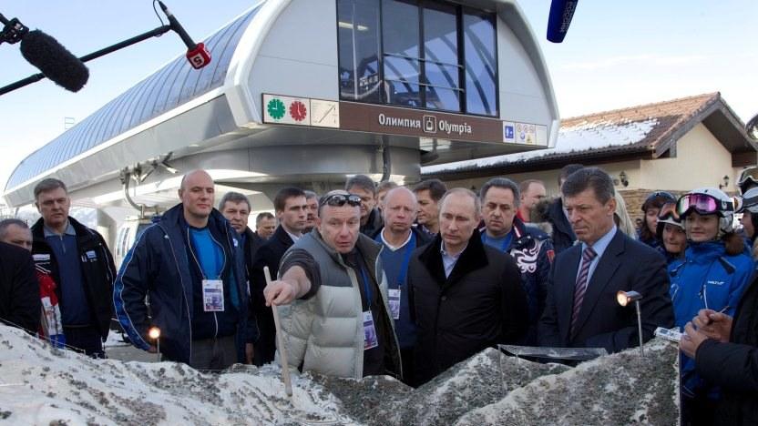 Igrzyska w Soczi to najambitniejszy z projektów sportowych Putina /IVAN SEKRETAREV /PAP/EPA