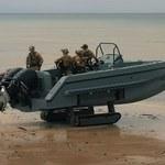 Iguana - łódź motorowa zdolna do poruszania się po lądzie