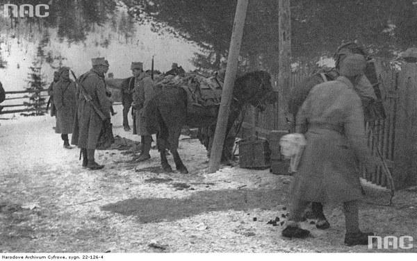 II Brygada Legionów podczas walk w Karpatach, 1914
