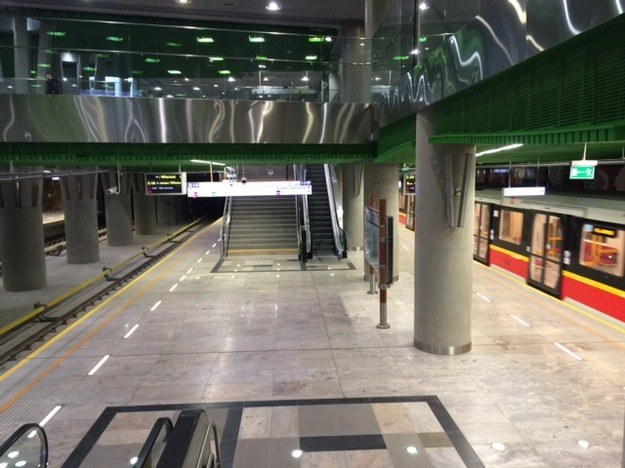 II linia metra zostanie otwarta w niedzielę /Magdalena Gawlik /RMF FM