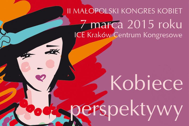 II Małopolski Kongres Kobiet /materiały prasowe