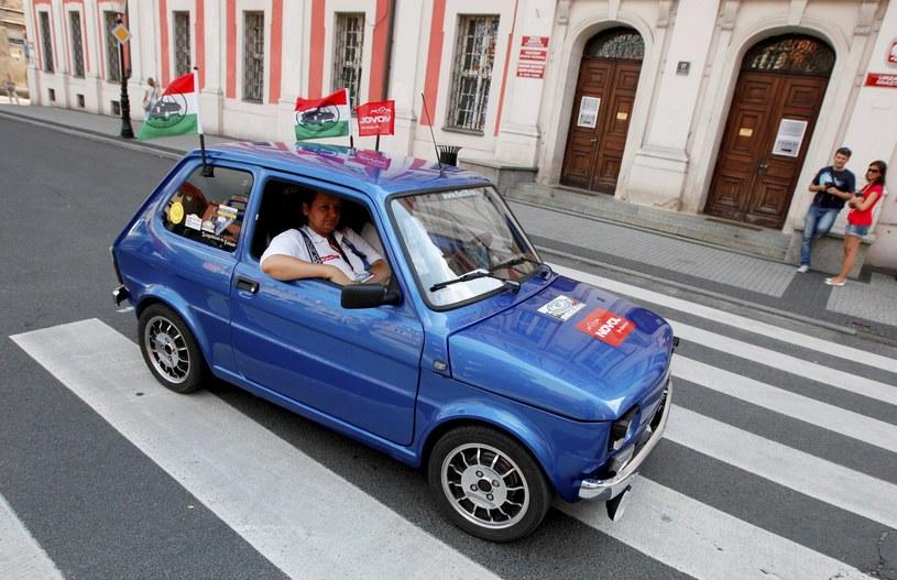 II Międzynarodowy Zlot Miłośników Fiata 126p w Poznaniu / Marek Zakrzewski    /PAP