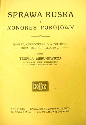II Rzeczpospolita Polski, Litwy i Rusi. Dlaczego nie powstało wspólne państwo?