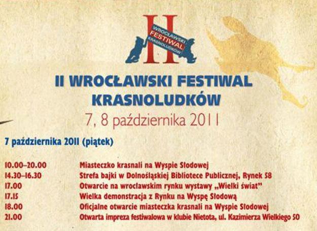 II wrocławski festiwal krasnoludków /materiały prasowe