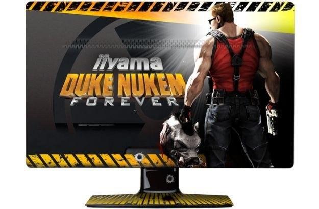 iiyama E2473HDS Duke Nukem Forever - idealny monitor dla fanów Księcia /Informacja prasowa