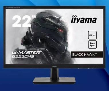 iiyama G-Master G2230HS Black Hawk - test budżetowego monitora dla graczy