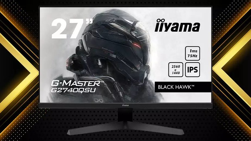 iiyama G-Master G2740QSU Black Hawk /materiały prasowe