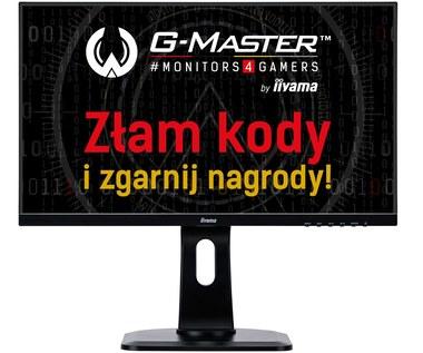 iiyama G-Master – nowe modele, nowe logo i ponad 100 nagród w konkursie