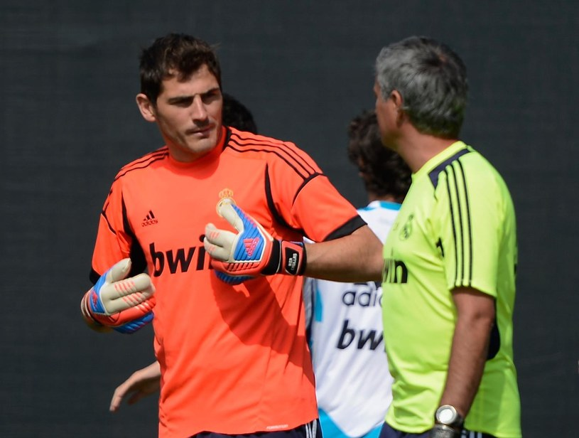 Iker Casillas i Jose Mourinho /AFP