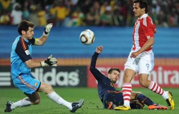 Iker Casillas wierzy w ducha hiszpańskiego zespołu /AFP