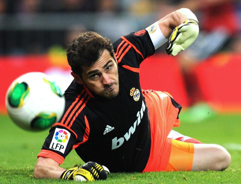 Iker Casillas wrócił do zdrowia, ale nie do bramki Realu Madryt /AFP