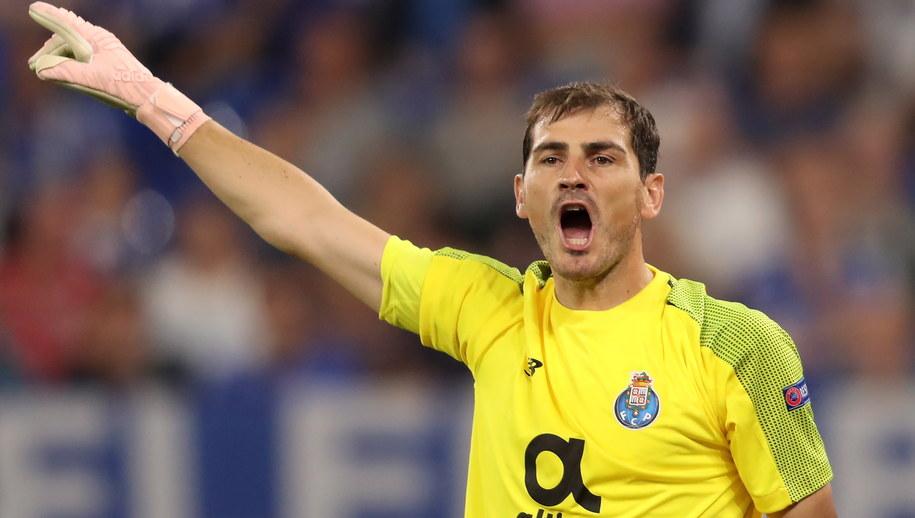 Iker Casillas /Friedemann Vogel /PAP/EPA