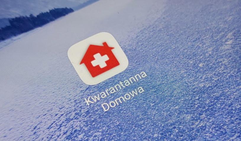 Ikona aplikacji Kwarantanna domowa /INTERIA.PL