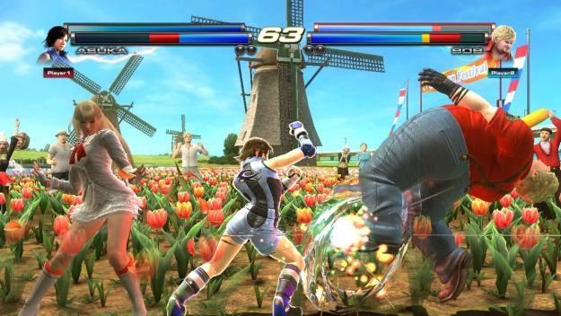 Ile bohaterów Tekkena potrzeba by przewrócić Boba? Odpowiedź na poniższym screenie /Informacja prasowa